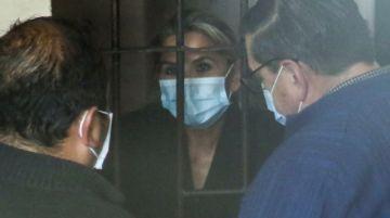 Dictan otra detención preventiva contra Jeanine Añez por seis meses en un segundo proceso del caso 'golpe'