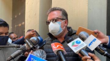 Alarcón llama encubridor a Lanchipa por excluir a Evo Morales del caso fraude