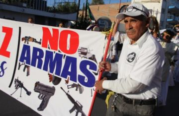 "México demanda a fabricantes de armas en EEUU por ""comercio negligente e ilícito"""