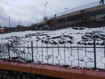 La nevada caída en la ciudad de Potosí no causó desastres