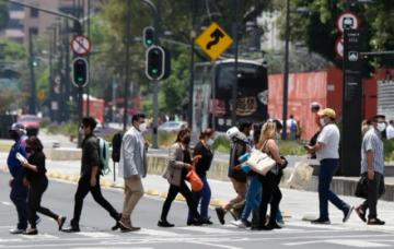 México vuelve a más de 20.000 casos diarios de covid-19, con delta como dominante