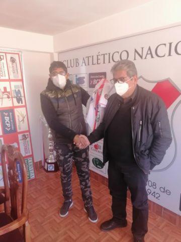 Alberto Illañez  asume la dirección técnica del club Nacional Potosí