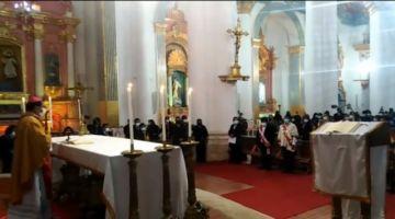 En desarrollo la ceremonia de Tedeum en la Catedral de Potosí en homenaje a Bolivia