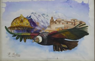 Talento potosino le rinde homenaje a Bolivia