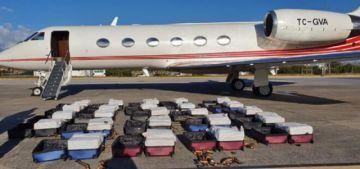 Español y turco son detenidos en Brasil con una tonelada de cocaína en avión