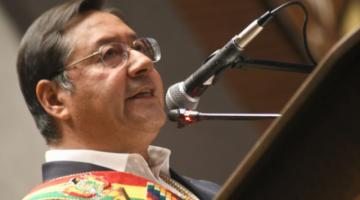 """Discurso de Luis Arce sobre """"golpe de Estado"""" genera tensión entre oficialistas y opositores"""