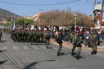 Todo está listo para la Parada Militar de este sábado en Sucre