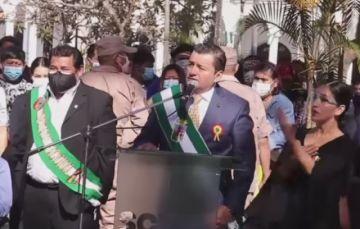 Alcalde de Santa Cruz pide priorizar los intereses de la patria por encima de los personales