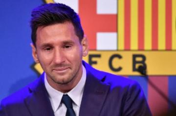 Messi se despide entre lágrimas de un Barça en el que se imaginaba toda la vida