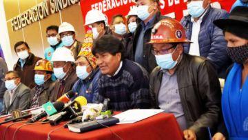 Organizaciones afines al MAS se declaran en emergencia y vigilantes ante intentos de 'desestabilización'