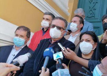 Mesa denuncia que fue impedido de ingresar al Legislativo para brindar una conferencia de prensa
