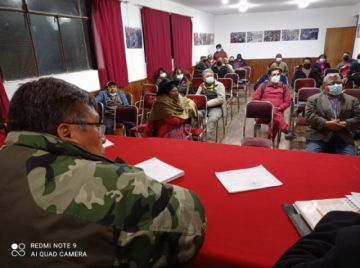 Comcipo ratifica la unidad en defensa del litio y del Cerro de Potosí