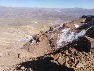 Recorte para habilitar áreas de trabajo en la parte inferior del cerro tardaría tres años
