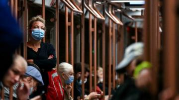 Rusia registra 808 muertos por coronavirus en 24 horas, un récord diario