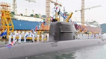 Corea del Sur recibe primer submarino capaz de disparar misiles balísticos