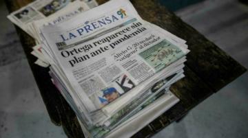 Detienen a gerente de La Prensa de Nicaragua, tras allanamiento al diario