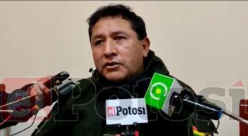 Potosí se queda sin comandante de la Policía