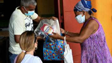 Donación de alimentos, una bocanada de aire para familias cubanas