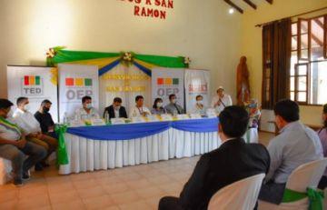 Serecí concluye posesión de nuevos oficiales Registro Civil en cuatro localidades de Santa Cruz