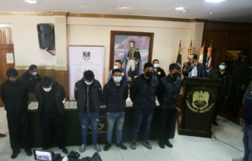 Operativo policial aprehende a 24 presuntos antisociales en la ciudad de El Alto