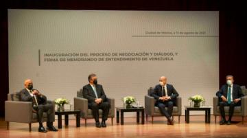 """Noruega ve """"reuniones constructivas"""" en México entre gobierno y oposición de Venzuela"""