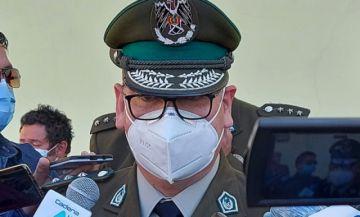 Para el comandante, la quema de unidades policiales sería un caso en que no se puede encontrar resultados