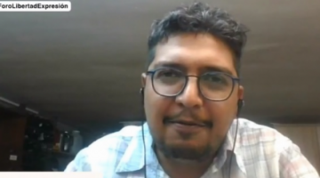 Relator de la CIDH: Estamos en tiempos donde hay periodistas y medios amenazados