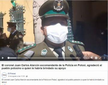 Circula en las redes sociales montaje utilizando imagen de video de El Potosí