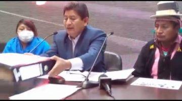Ministro destaca que informe del GIEI devela vulneración de derechos humanos