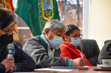 Arias y Copa sostienen primera reunión y crean comisiones para definir límites municipales