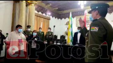 Juró el nuevo comandante de la Policía de Potosí