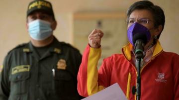 Alcaldesa de Bogotá anuncia un cuerpo que perseguirá a migrantes que delincan
