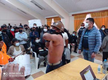 Informe del GIEI fue interrumpido por la pugna de grupos en Potosí