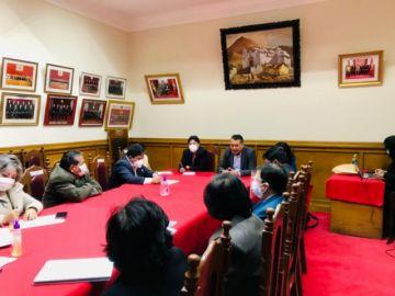 Consejo de la Magistratura sesiona en Potosí
