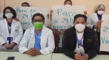 Médicos del Hospital de Clínicas anunciaron paro de 24 horas con suspensión de servicios