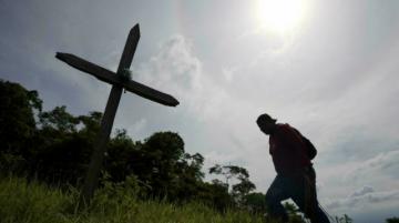 Efraín, una vida mutilada dos veces por minas en Colombia