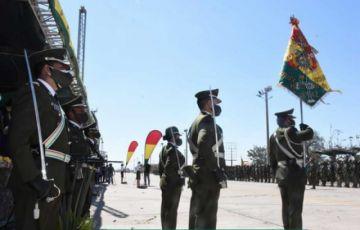 Arce promulga ley de ascensos en la institución del orden que incluye al Ministerio de Gobierno en el mando policial