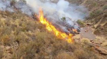 Seis brigadas acuden a mitigar incendios en dos comunidades en Puna y Chaquí