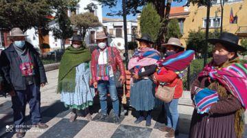 Comunarios de Samasa Baja anuncian bloqueo de la vía Potosí-Sucre