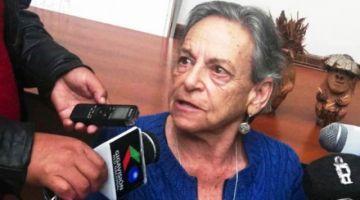 En el MAS cuestionan a Amparo Carvajal por defender a Añez y olvidarse de las víctimas de Senkata y Sacaba