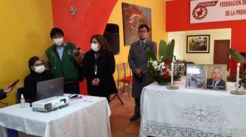 Piden espacio en mausoleo para ex dirigente de los periodistas