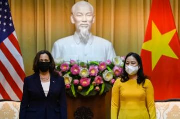 """Kamala Harris quiere """"aumentar la presion"""" sobre Pekín en disputa marítima"""