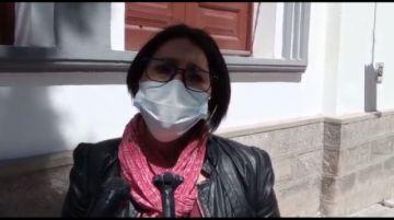 María Galindo presentará su libro en la Casa de Moneda mañana