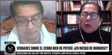 El Potosí alerta que el Estado no evita mayores daños al Cerro Rico