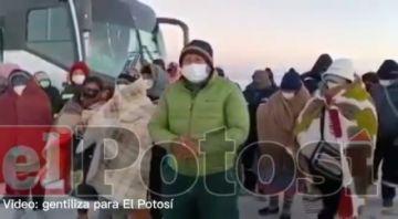 Comunarios toman instalaciones de la planta del litio en el salar
