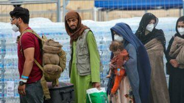 Una base estadounidense en Alemania convertida en campo de refugiados afganos