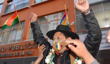 Santos Quispe declara en la Fiscalía y se declara inocente: 'Si yo puedo estar como el Patzi, ahí me pueden juzgar'