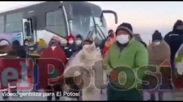 Comunarios toman planta de litio y frenan visita del presidente Arce