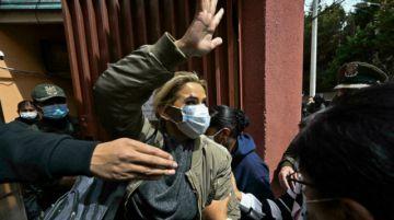 """Defensa de expresidenta de Bolivia Áñez acude a CIDH para evitar """"daño irreparable"""""""