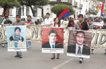 """Caso La Calancha: Gobierno alista respuesta a CIDH sobre la """"verdad"""" de lo ocurrido en Sucre"""